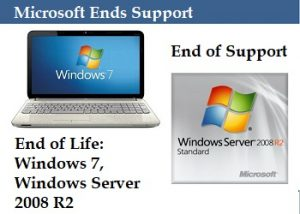 Microsoft ends support for Windows 7, and Windows Server 2008